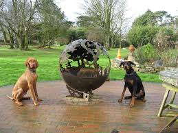 Sphere Fire Pit by Bespoke Designed Firepits The Firepit Company