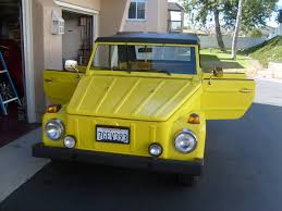 volkswagen thing yellow vw thing for sale in tennessee volkswagen 181 classifieds 1973 74