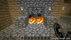 How To Lite A Fire Pit - how to make fire in minecraft