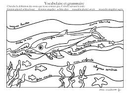 Coloriages codés du dauphin pour maternelle et élémentaire