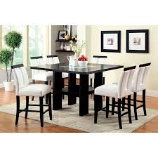 triangle high top table appealing glass counter height table tables set high dining jofran