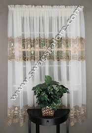 Seville Curtains Seville Sheer Curtains Ecru Lorraine Home Fashions Curtains