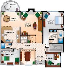 Floor Plans With Measurements Interesting House Floor Plans With Measurements Interior Layout