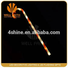 christmas sticks with lights novelty led christmas walking sticks with led christmas light inside