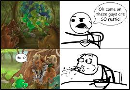 Meme Cereal Guy - nightriders meme with cereal guy by methylcalm on deviantart