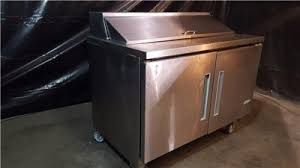 Used Sandwich Prep Table by Used Edesa Edst 48 12 48