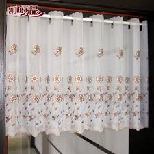 White Window Valance Compare Prices On White Kitchen Valance Online Shopping Buy Low