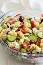 salad pasta easy greek pasta salad oh sweet basil
