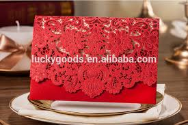 Marriage Invitation Card Design Sale Red Latest Wedding Card Designs Wholesale Buy Latest