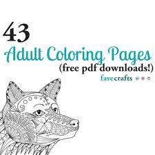 43 printable coloring pages pdf downloads favecrafts com