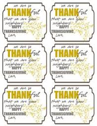 thankful for you gift and free printables is a wonderful