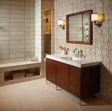 teak shower seat bathroom contemporary with glass shower door