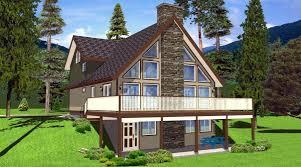 house plans with walk out basement fantastic a frame house plans with walkout basement basements ideas