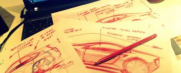 how to start drawing a car with luciano bove u2013 www lucianobove com