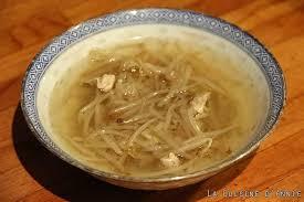 comment cuisiner les pousses de soja recette soupe aux germes de soja la cuisine familiale un plat