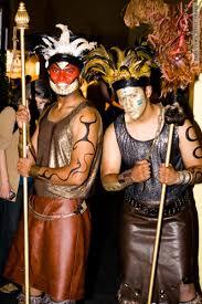 Mayan Halloween Costume Mayan Guys Cape Town Daily Photo