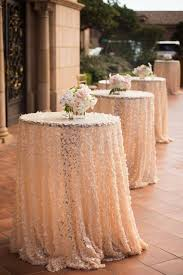 wedding table covers how to wear sequin cloth of wedding table weddceremony