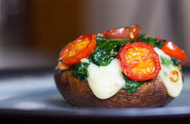 spinach stuffed portobello mushrooms picasso u0027s artichoke