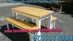 Woodworking Bench South Africa by Tables Made From Pinetreated Wood Stellenbosch Gumtree
