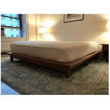 King Size Bed Platform Room Board Co Platform King Size Bed Frame Aptdeco
