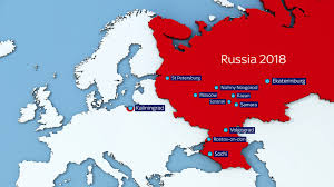 russia football map russia 2018 world cup all you need to ahead of next summer