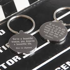 favourite movie quote keyring by oh so cherished