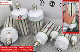 Gas Station Canopy Light Bulbs by 100 Watt E39 Led Light Bulb 11 500 Lumens 4000k Dlc