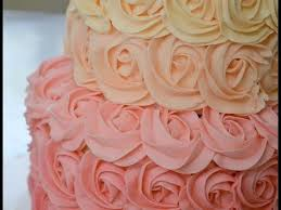 Simple Cake Decorating How To Make Easy Buttercream Rosettes Cake Decorating For