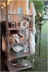 rustic backyard wedding vintage weddings