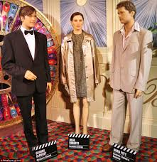 movielands wax museum figures bear only a passing resemblance to