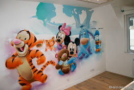 chambre b b mickey dessin chambre garcon avec chambres de gar ons d coration graffiti