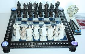 harry potter wizard chess set by deagostini and time turner hd