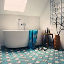 Blue Bathroom Tiles Ideas Bathroom Fashionable White Porcelain Pedestal Sink Added Square