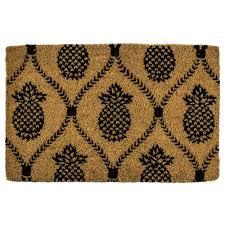 entryways pineapple trellis 22 in x 35 in hand woven coconut