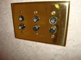 old push button light switches neat features in old houses