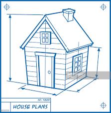 house blueprint cartoon vector art getty images