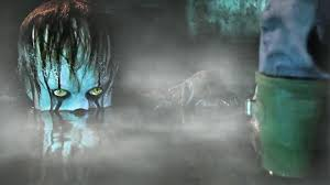halloween scary background green horror ambient pennywise the dancing clown scary background