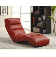modern recliner chair lounge gaming lazy boy red sofa seat living