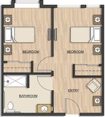 Unit Floor Plans Floor Plans Memory Care Conifer House Corvallis Or