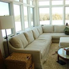 White Slipcovered Sofa by Furniture Slipcovered Sectional Sofa Pottery Barn Slipcover