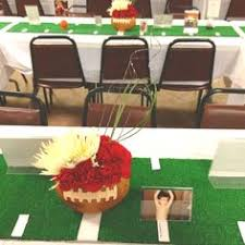 football banquet centerpieces the new cougar head looks great a