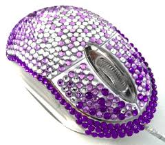 purple led lights for computers rhinestone computer mouse with internal led lights description