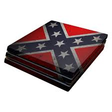 Rebel Flag Image Rebel Flag Skin Design For Sony Playstation 4 Pro Ps4