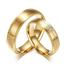 aliexpress buy real brand italina rings for men hot alibaba express factory price sale gold plating stainless steel