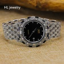 sterling silver bracelet watches images 30mm real pure sterling silver watch bracelets for men fine jpg
