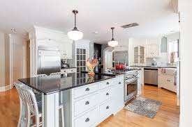 large kitchen islands with seating kitchen transitional with black