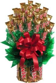 candy gift baskets twix candy gift bouquet giftprose
