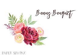 wedding flowers clipart watercolor burgundy flowers clipart fall wedding flowers