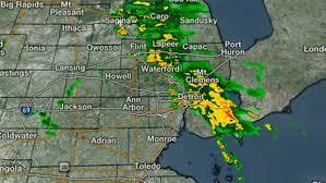 Radar Map For Michigan by Live Radar Storms Moving Through Se Michigan