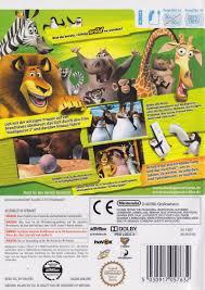 madagascar escape 2 africa 2008 playstation 2 box cover art